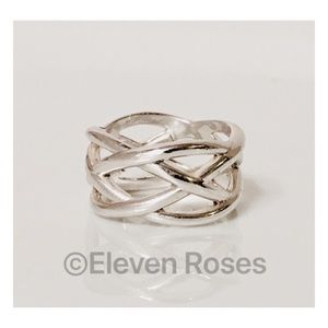 Tiffany & Co. Sterling Silver Celtic Knot Ring